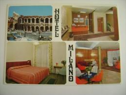 VERONA   HOTEL   MILANO I     NON VIAGGIATA COME DA FOTO