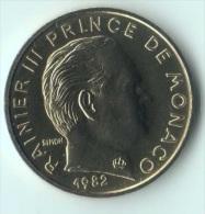 ** 5 CENT MONACO 1982  FDC ** - Monaco
