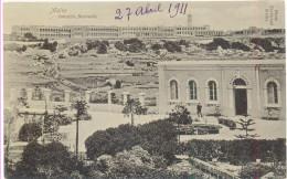 MALTA IMTARFA BARRACKS YEAR 1911did Not Travel - Malte