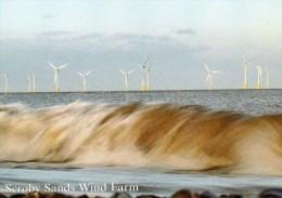 Postcard - Scroby Sands Wind Farm, Norfolk. 2-29-19-04 - Châteaux D'eau & éoliennes