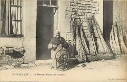 Ref  B1046- Metiers - Artisanat - Faverolles - La Derniere Fileuse De Chanvre - Carte Bon Etat  - - Artisanat