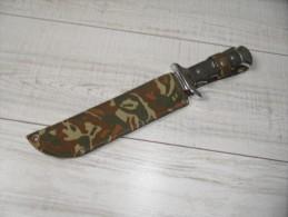 Couteau,poignard De Chasse,idéal Sortie,nature,peche,scoutisme. - Armes Blanches