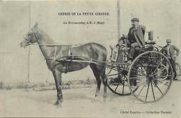 Ref  B1035- Journal- Presse - Course De La Petite Gironde - Attelage Cheval -la Barzunaise A M J Bidot- Carte Bon Etat - - Unclassified