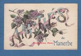 CPA - Amitiés De MANERBE - Calvados - Rare - France