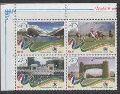 PAKISTAN, 2012,MNH,UNEP, WORLD ENVIRONMENT DAY, MOUNTAINS, HORSES, GREEN ECONOMY, 4v - Milieubescherming & Klimaat