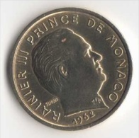 ** 10 CENT MONACO 1962  SUP ** - 1960-2001 Nouveaux Francs