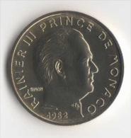 ** 10 CENT MONACO 1982  FDC ** - Monaco