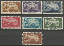 TUNISIE  N � 147/153 NEUF* TTB