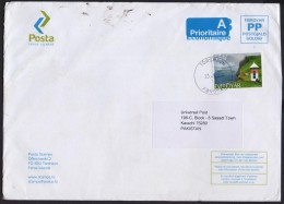Water, River, Postal History Big Cover From FOROYAR FAROE ISLANDS 23.9.2014 - Faroe Islands