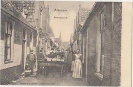 CPA PAYS BAS NEDERLAND ALKMAAR Bloemstaat 1904 - Alkmaar