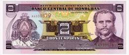 HONDURAS 2 LEMPIRAS 2000 Pick 80Ab Unc - Honduras
