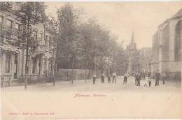 CPA PAYS BAS NEDERLAND ALKMAAR Kerkplein 1904 - Alkmaar