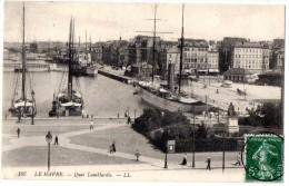CP, 76, LE HAVRE, Quai Lambardie, écrite, Voyagé En 1908 - Port