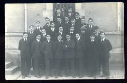 Cpa Carte Photo Du 85 Groupe D' élèves Photographie E. Bertrand La Roche Sur Yon   AO12 - La Roche Sur Yon