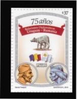 Uruguay 2010 ** 75 Años De Relaciones Diplomáticas Con Rumania. See Description. - Historia