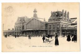 (656-62) Arras - La Gare (un Jour D'hver) - Arras