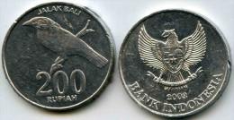 Indonesie Indonesia 200 rupiah 2003 KM 66