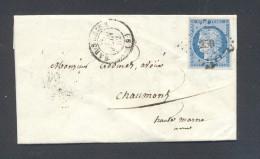 AUBES BAR SUR SEINE Tad Type 15 Du 28 Juin 1852 Et 25 C CERES N° 4 Obl PC 250 TB Ind 12 - 1849-1850 Ceres
