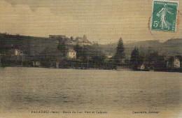 38 PALADRU  Bords Du Lac  . Port Et Cabines - Paladru