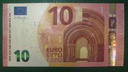 10 Euro S003C1 Italy Serie SF Draghi Perfect UNC - EURO