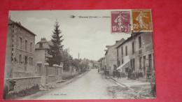 MARSAC (Creuse) - Avenue ? Reste Du Texte Caché Par Les Timbres - France