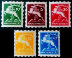 FETE DES BOY-SCOUTS 1933 - NEUFS ** - YT 462/66 - MI 511/15 - Ungheria