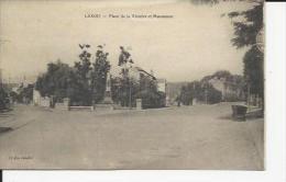Laxou    Monument Aux Morts De La Guerre 1914-18 Et Les Rues............ - Autres Communes