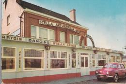 ROOSBEEK-CAFE-DANCING-JEANNE-GROTE STEENWEG 33-RECLAME-STELLA-AUTO-RENAULT-DAUPHINE-ZIE 2 SCANS-MOOI! ! ! - Boutersem