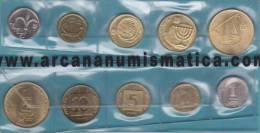 ISRAEL   Tira/Set  5 Monedas    SC/UNC    T-DL-10.021 - Israel