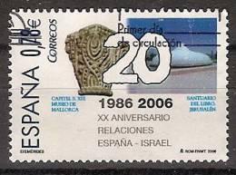 España U 4258 (o) España Israel. 2006 - 2001-10 Usados
