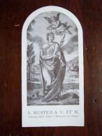 SANTINO NUOVO - S.MUSTIOLA V ET M - ORAZIONE - Religion &  Esoterik