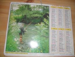 Calendrier De  Poste  1987 - Big : 1981-90