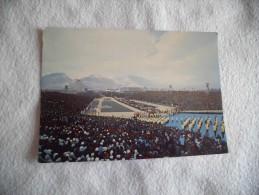STADE OLYMPIQUE DE GRENOBLE.1968...CEREMONIE D'OUVERTURE....10E JEUX D'HIVER. - Stades