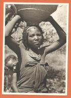 Oct162, Femme Du Pays De Hanya, GF, Non Circulée - Angola