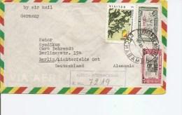 Bolivie ( Lettre Recommandée De 1963 De Cochabamba Vers L'Allemagne à Voir) - Bolivia