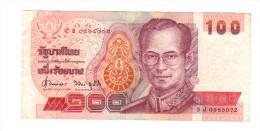 Thailande: Billet De 100 Baht (14-2204) - Thailand