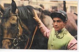 HIPPISME - Jockey Et Son Cheval - Postillon - Calendrier Des Courses Novembre 1967 - Calendriers