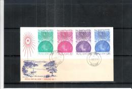 FDC Malawi - Christmas 1964 - Série Complète (à Voir) - Malawi (1964-...)