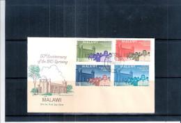 FDC Malawi - Cinquantenairedu Soulèvement De 1915 - Série Complète (à Voir) - Malawi (1964-...)