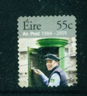 IRELAND  -  2009  25th Anniversary Of An Post  55c  Self Adhesive From Coils  Large Format  Used As Scan - 1949-... Repubblica D'Irlanda