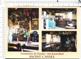 MONT CASSEL  -  Estaminets De  Flandre  -   Het  Kasteelhof   -  3 Vues - - Cassel