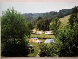 Ford Cortina Mk2, Fiat 124, Renault 8, Caravane, Camping Moulin De Bistain, Cherain Gouvy - PKW