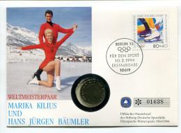 "Norvège Norway 1 Krone 1993 UNC - Letter "" Marika Kilius & Hans Jurgen Baumler "" No. 01638 - Other"