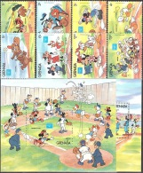 Walt Disney  MiNr. 1471 - 1480 (Block 158) Grenada  MNH / ** / POSTFRISCH - Disney