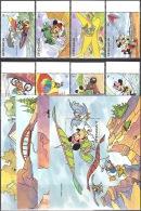 Walt Disney  MiNr. 2386 - 2397 (Block 295) Grenada  MNH / ** / POSTFRISCH - Disney