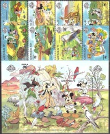 Walt Disney  MiNr. 1806 - 1815 (Block 210) Grenada  MNH / ** / POSTFRISCH - Disney