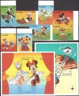 Walt Disney MiNr. 3144 - 3153 (Block 419) Grenada   MNH / ** / POSTFRISCH - Disney