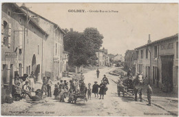 GOLBEY - Grande Rue Et La Poste - Golbey