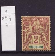 Indochine 1892-96 Y&T N°4 Nsg - Ungebraucht