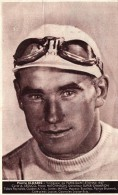 Photo Publicitaire De PIERRE  CLOAREC - Vainqueur De Paris - Saint Etienne 1937 - Cycle A. LEDUCQ, Pneus HUTCHINSON - Wielrennen
